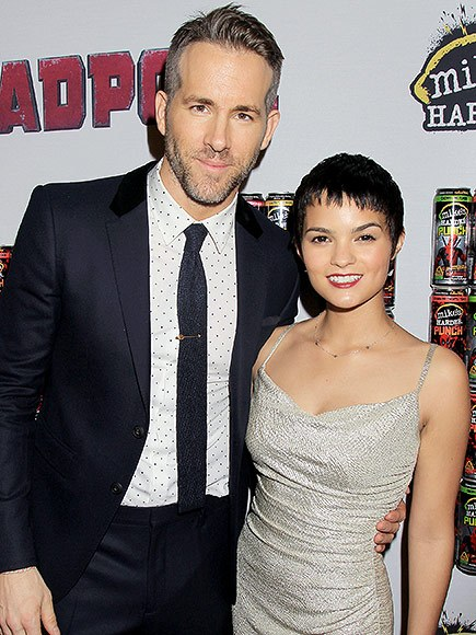 Brianna Hildebrand photoshopped herself with her crush Ryan Reynolds