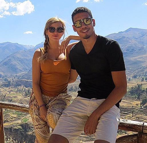 Chris Smalling All Set To Turn Girlfriend Into Wife; Gets Fellow Player Injured In Training Session