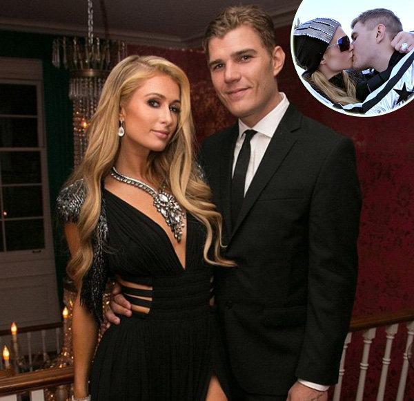 Engagement For Chris Zylka! Fiancée Paris Hilton is Flaunts Tinsel Engagement Ring
