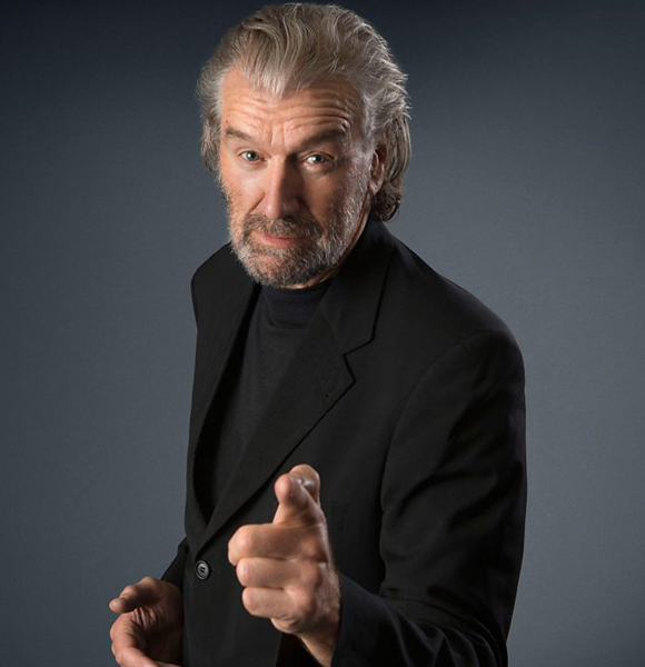 Clive Russell Not A Married Man Or Just Keeping His Wife Away From His Limelight?