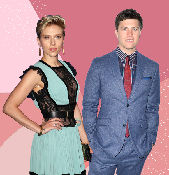 They Re Dating Colin Jost Rekindled His Romance With Scarlett Johansson More Details