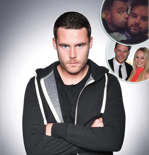 Danny Miller Is Not Gay! But Dating Affair with Girlfriend Isn't Fine Either