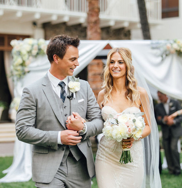 Married In Style! A Look At Darin Brooks' Beautiful Wedding Ceremony Where He Turned Girlfriend Into Wife