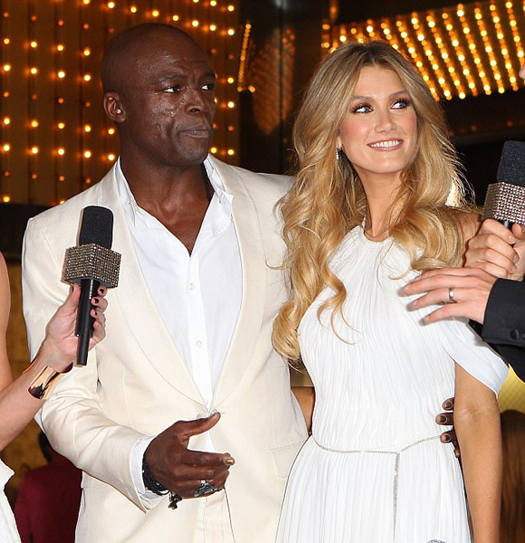 Seal dating the voice contestant
