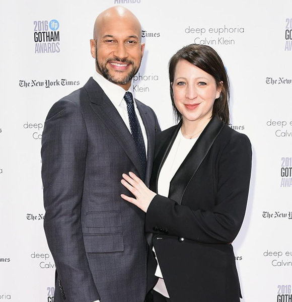 One Up for Love! Elisa Pugliese and Keegan-Michael Key are Engaged After Dating for Quite a Time