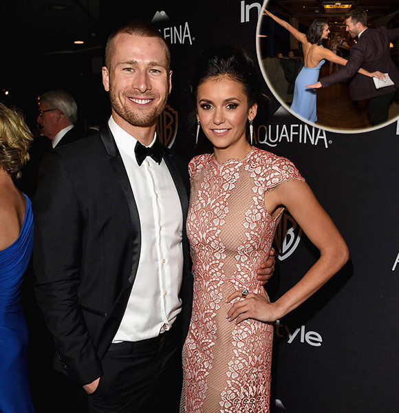 Rumors of Glen Powell Dating Nina Dobrev Are True!  Confirms Girlfriend In a Cute Snap
