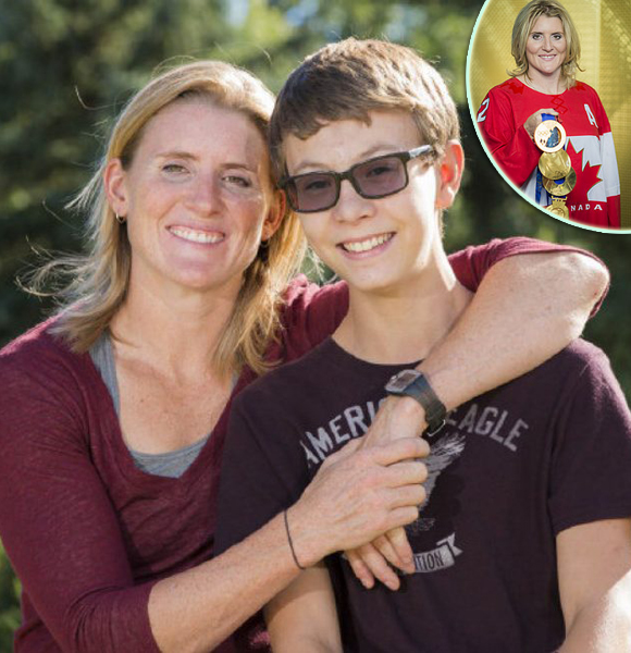 Hayley Wickenheiser Just Couldn't Get Married And Have A Husband But She Did Have A Son From The Relationship