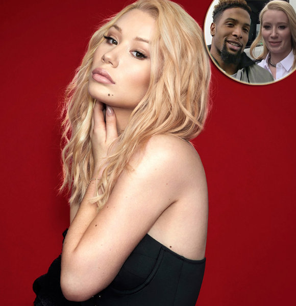 Iggy Azalea and Odell Beckham Jr. Are Not A Thing; Crashes Dating Rumors Officially
