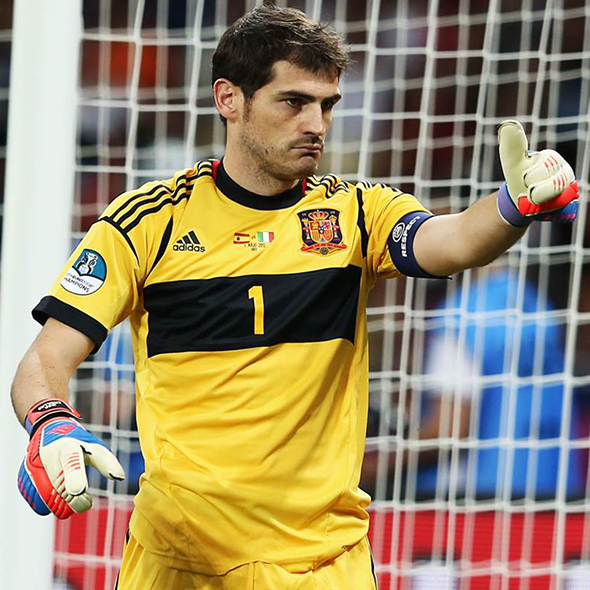 Iker Casillas: The most capped player in European History:Most International Caps