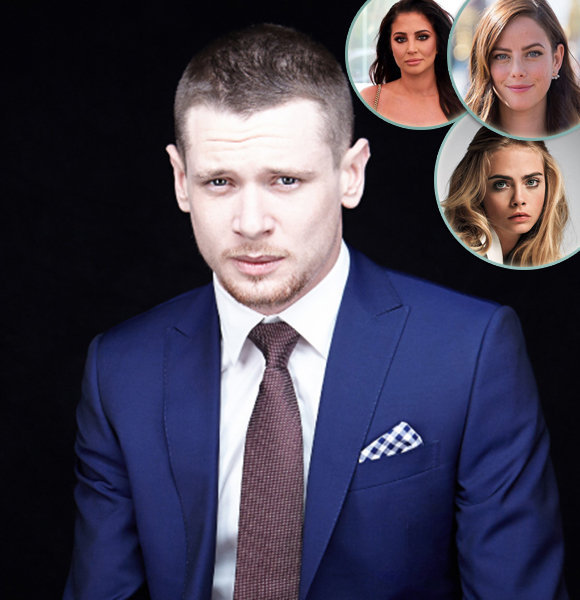 Jack O'Connell with Strings of Dating Affair & A-List Girlfriends!