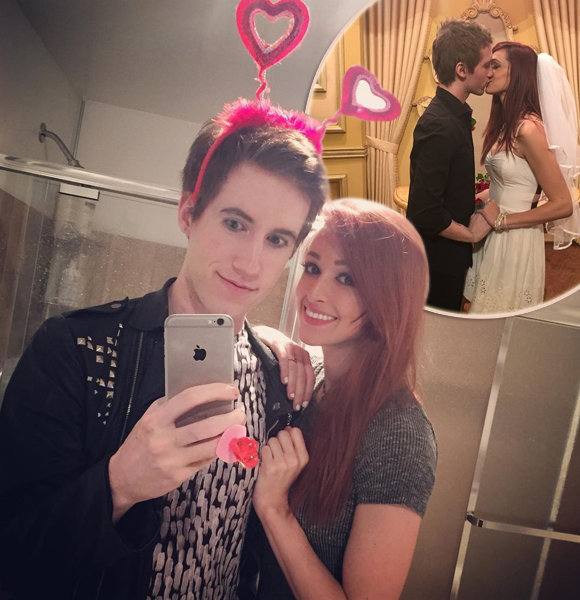 YouTuber JaclynGlenn Married Her Boyfriend But Fans Are In Confusion; Are They Husband And Wife?