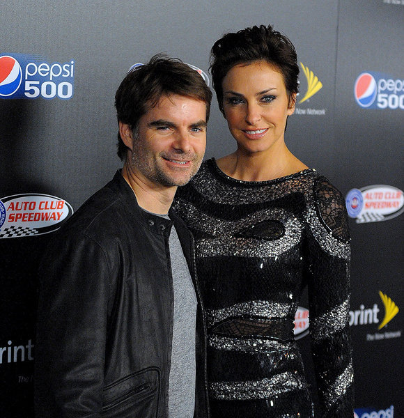 Jeff Gordon Flaunts His Married Life With Second Wife Any Chance Of Divorce Between Them