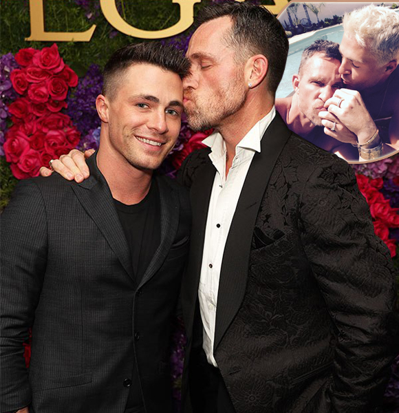 Jeff Leatham And Fiance Colton Haynes Are Engaged - Again!