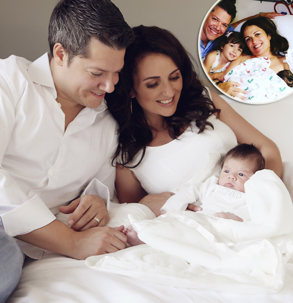 Sunshine After Rain! Jenni Pulos Welcomes Baby Daughter With Husband