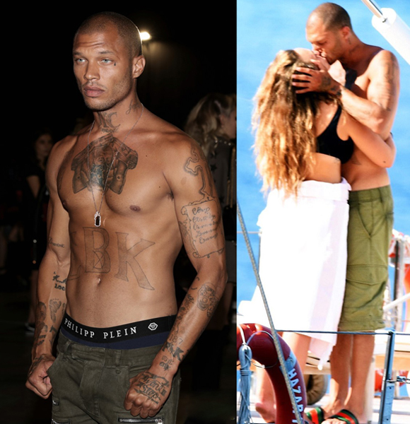 The MugShot Man Jeremy Meeks Sparks Affair After Being Spotted Enjoying a Kiss with Chloe Green