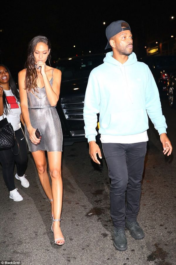 Romantically linked boyfriend and girlfriend: Bernard Smith and Joan Smalls