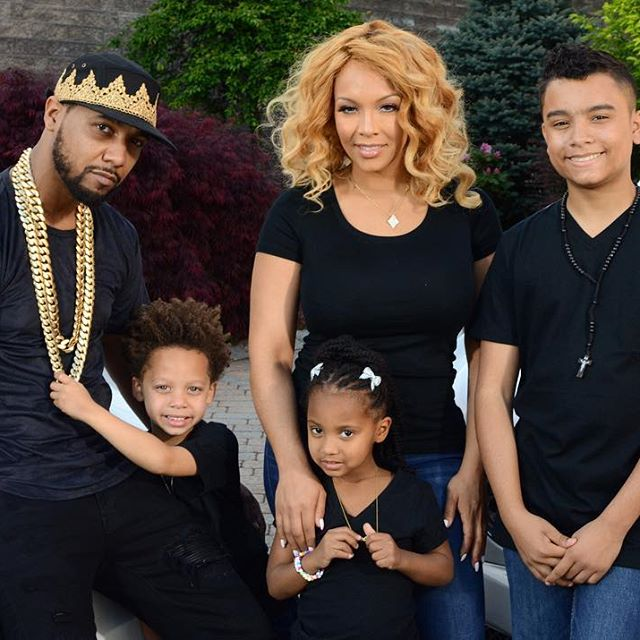 juelz santana and his family life with children and