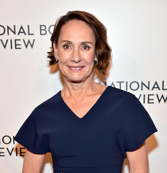 Laurie Metcalf In Harmony; Both With Husbands, Kids!