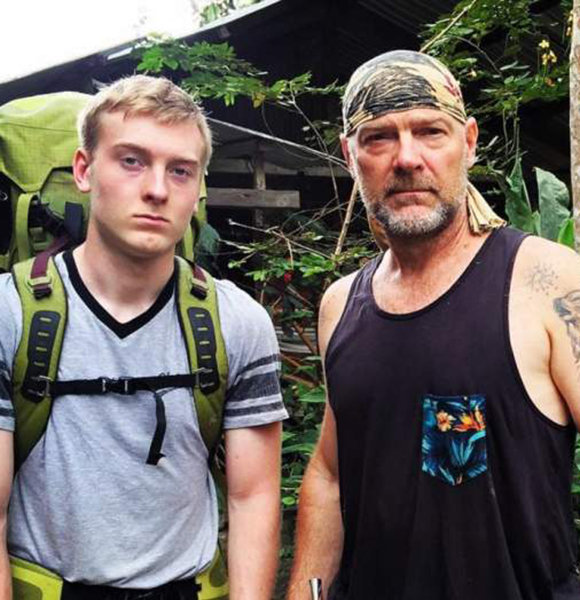 Les Stroud Survives!  Also Has Experience Of Rough Time With Wife And Son