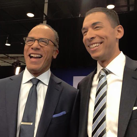 Mixed Ethnicity Lester Holt And Son, Stefan Holt in NBC News, Discover Lester's Married Life, Wife, and Family life
