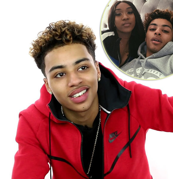 Lucas Coly In A Confident Yet Cozy Dating Affair With Girlfriend; Young & Pure!