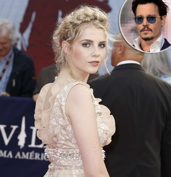 Lucy Boynton Having Dating Affair With Co-Star? Rumors of Actor Johnny Depp Becoming Her Boyfriend Debunked!
