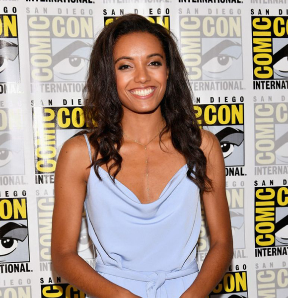 Not Clear If Maisie Richardson-Sellers Has Boyfriend But She Seems To Have A Dating Affair - Of Sorts