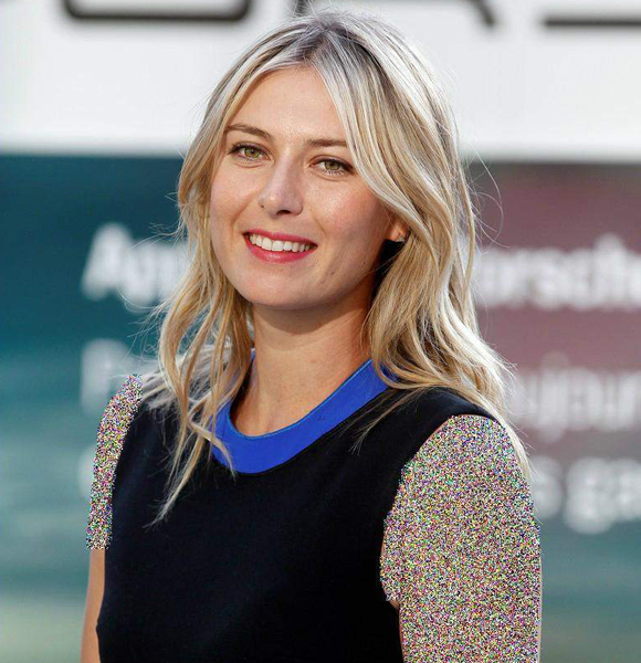 Maria Sharapova Isn't Married Or Has A Husband! But Also Won't Tell Anything On Her Boyfriend