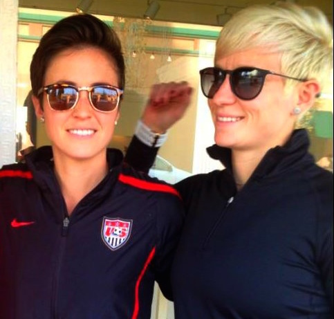 Out Lesbian Megan Rapinoe Almost Married, Then Came Girlfriend Sue Bird