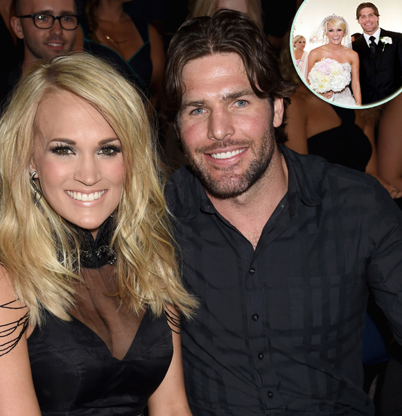 Mike Fisher Shines! Celebrates 7th Wedding Anniversary With with Wife Carrie Underwood