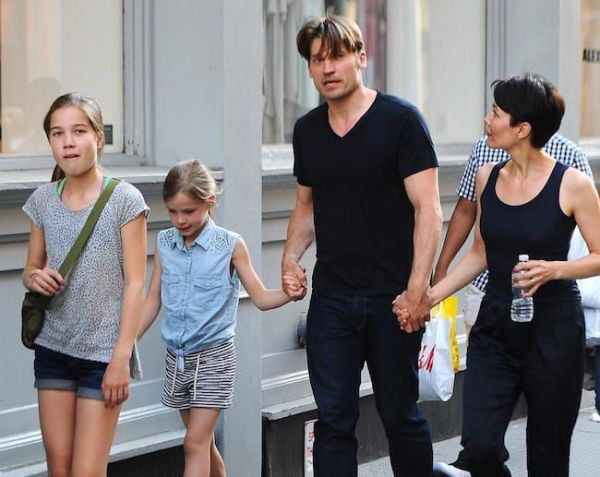 Image result for nikolaj coster waldau and wife