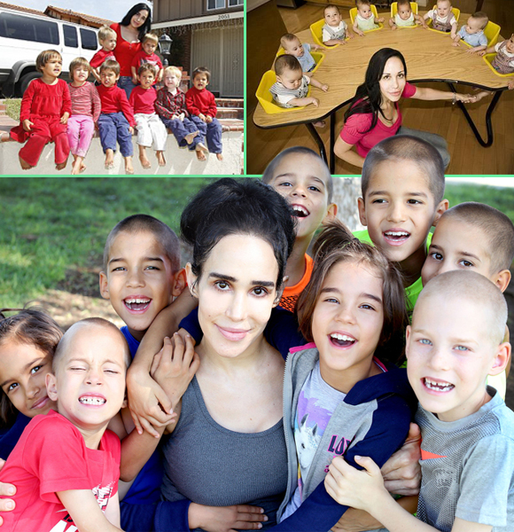When Nadya Suleman Got Pregnant And Conceived Her Children; Where Are The Kids Now?