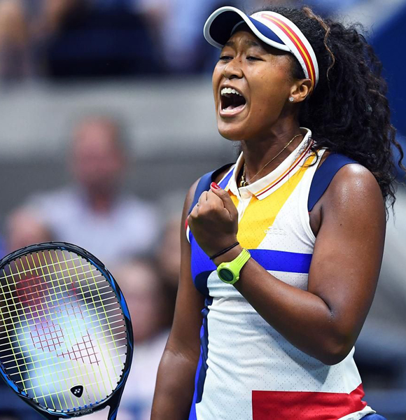 Naomi Osaka Rises Victorious In US Open First Round! Rising Mixed Ethnicity Player Upsets Angelique Kerber