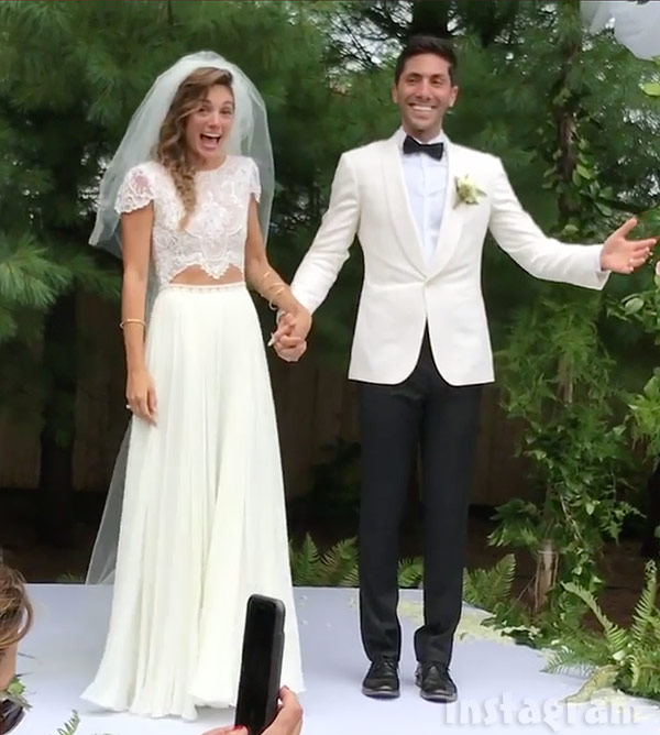 Wedding Bells for Nev Schulman & Wife! Gets Married To Fiance After Year Long Engagement & A Baby
