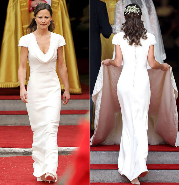 Pippa Middleton Luxury Wedding Details With James Matthews; Still The Major Highlight Is The Wedding Dress