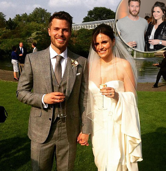 A Glance At Rick Edwards Intimate Beautiful Ceremony Where He Married Longtime Girlfriend