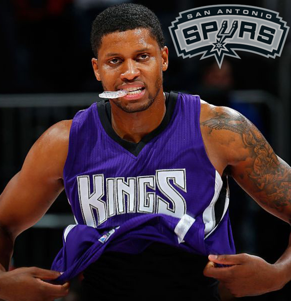 Rudy Gay Accords To Two-Year Contract Agreement With Spurs! What is His Current Stats?