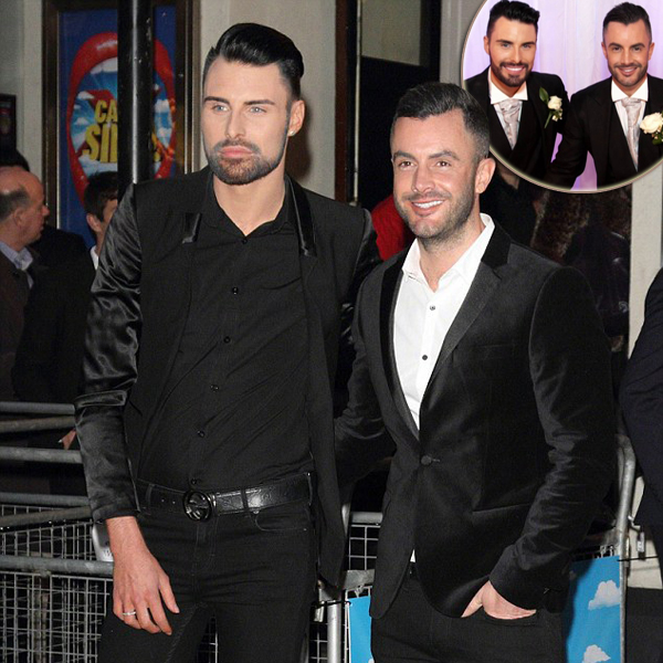 How Rylan Clark Got Married To His Partner Is Just Fairy-Like; A Flashback To The Wedding Day