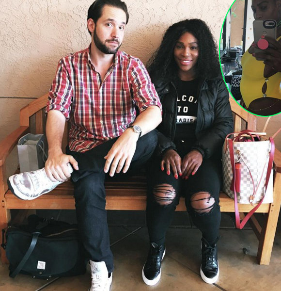Serena Williams Reveals Being Pregnant; A Gift From Dating Affair With Boyfriend