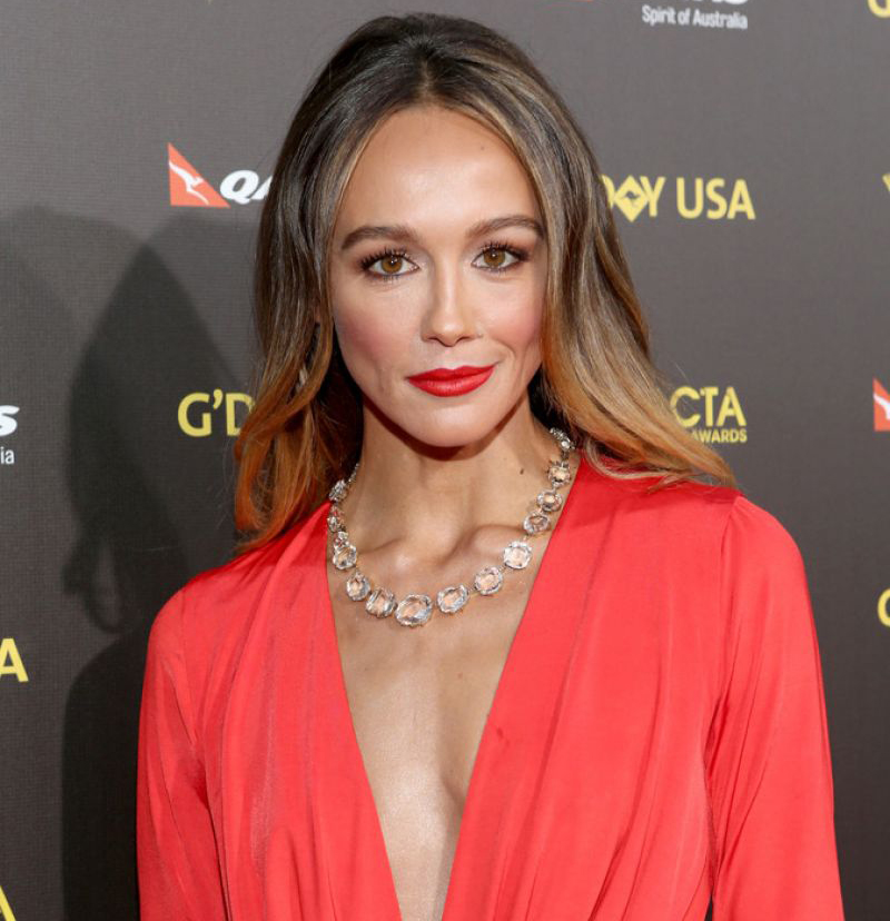 Sharni Vinson's Weight and Skinny Bod Has Nothing To Do With Her Dating Affair With Boyfriend!