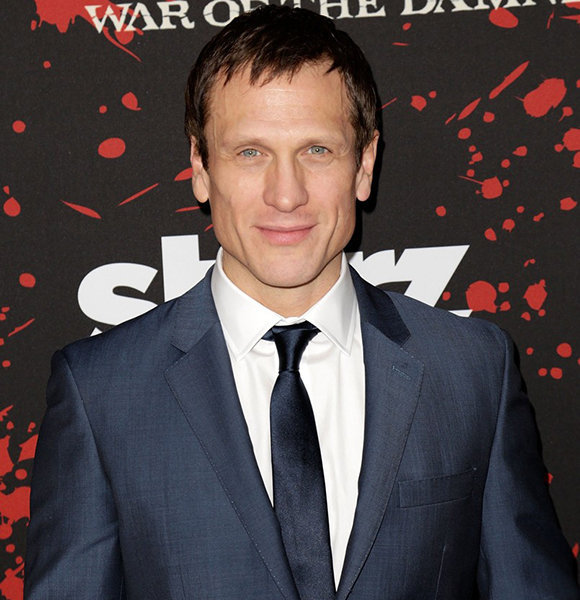 Simon Merrells Was Married And Had A Wife As Per Wiki; But The Actor Denies It