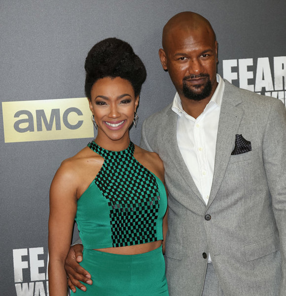 Sonequa Martin-Green Is A Blessed Woman With A Loving Husband And An Adorable Baby! Details