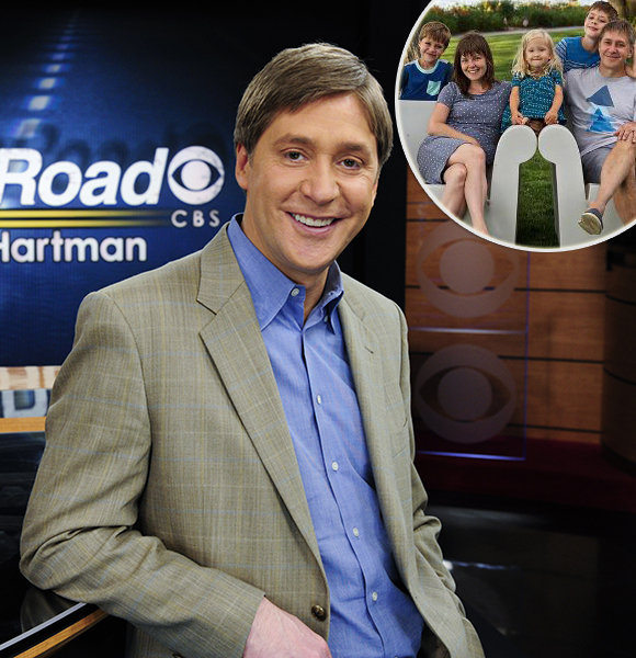 Steve Hartman Owes One to Family! Wife Helped Realize and Get Rid of His Addiction