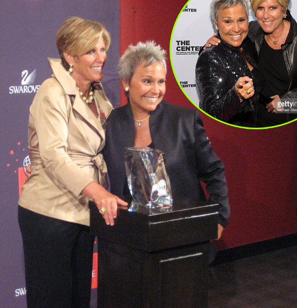 Openly Lesbian Suze Orman Gushes Over Her Partner-Turned-Wife; Chooses Love Over Net Worth