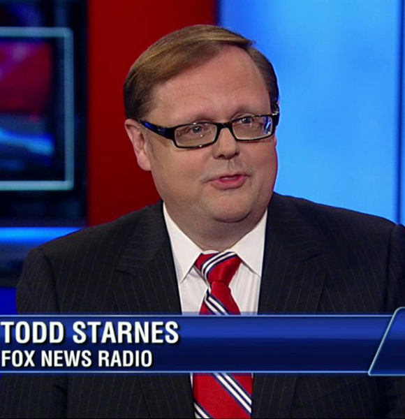 Fox News' Todd Starnes Went Through Weight Loss And His Wife Helped Him; He's A Married Man After All