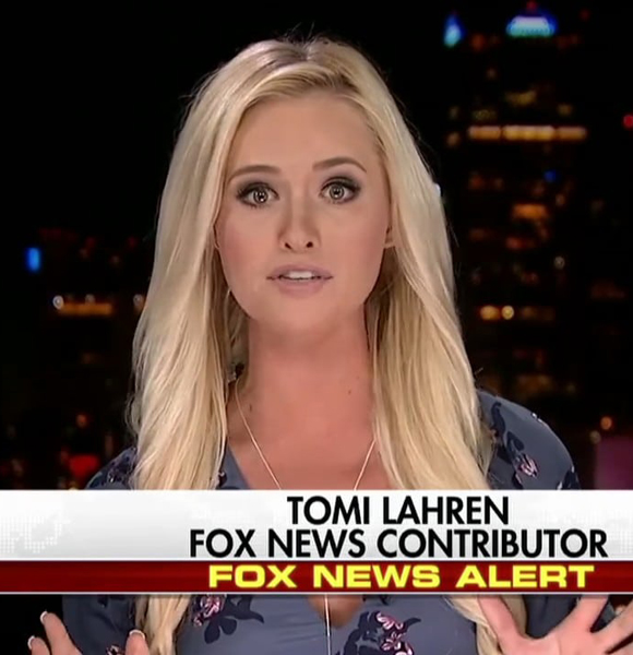 Former The Blaze Commentator Tomi Lahren Debuts On Fox News! Says FBI Email Explanation Is 'Crap'