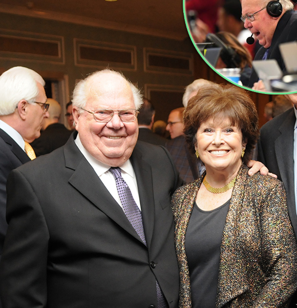 Retiring Verne Lundquist Returns To March Madness; Reveals How He Met His Wife
