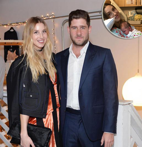 Baby Bliss! Whitney Port Cannot Control Joy of Welcoming Her First Child With Husband
