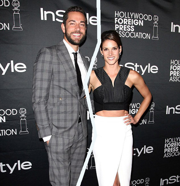 Missy peregrym and zachary levi start dating