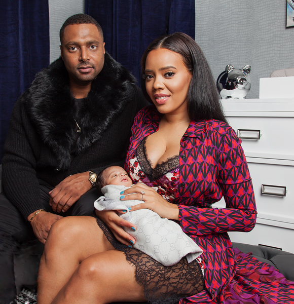 Angela Simmons Completes Mother Baby Goals! A Son She Got From  Fiance Turned Husband